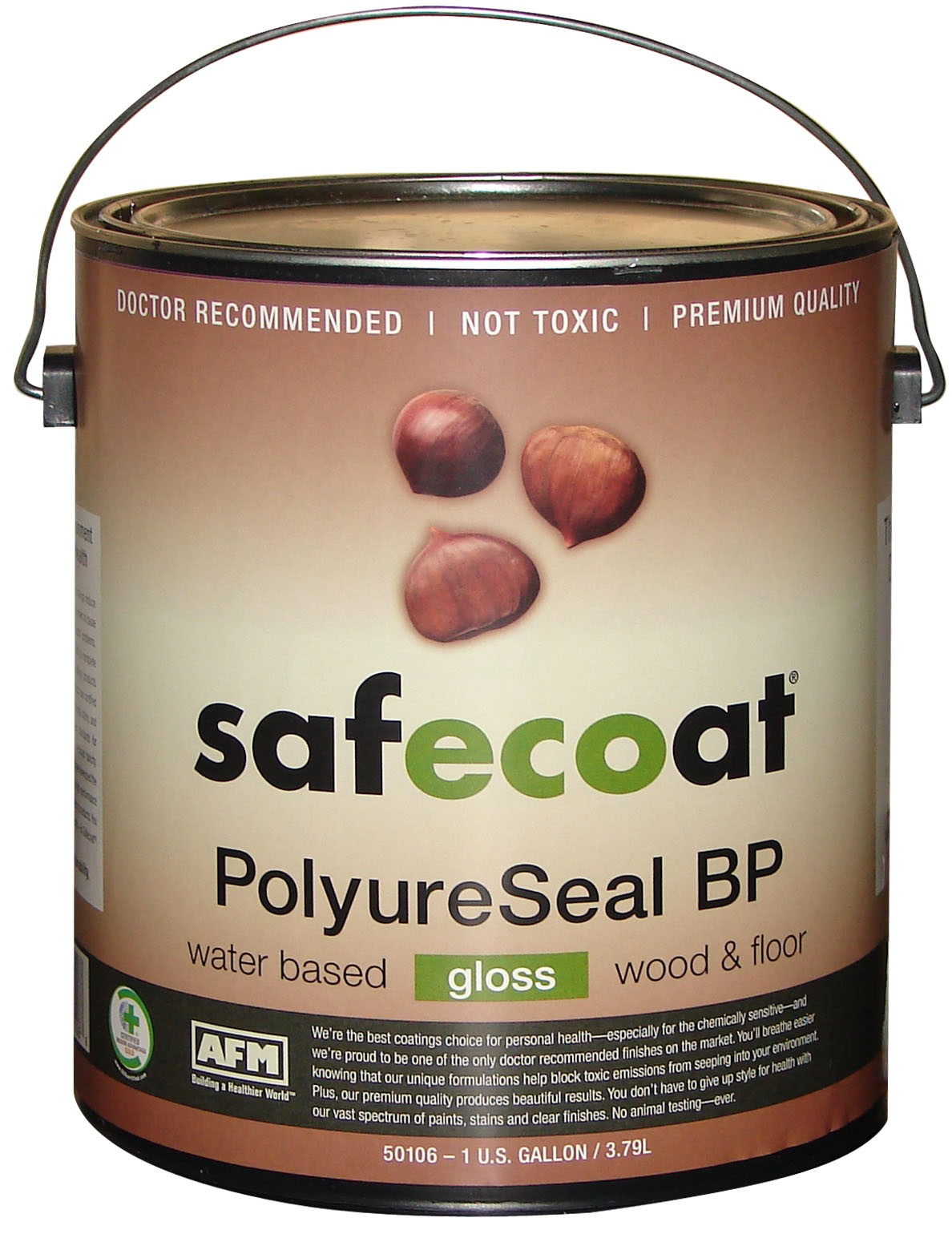 Polyureseal bp planet hardwood for Reseal cork flooring