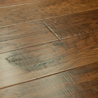 Hickory Engineered Prefinished Stained