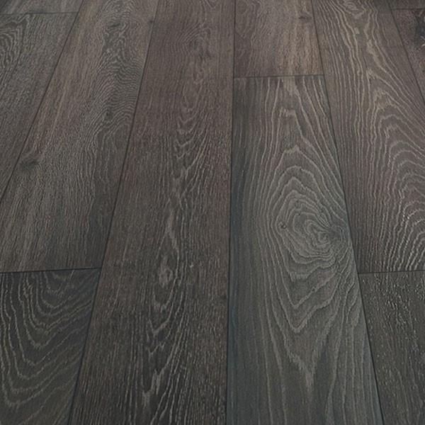 Oak Engineered Prefinished Fumed Wire Brushed Landscape Collection